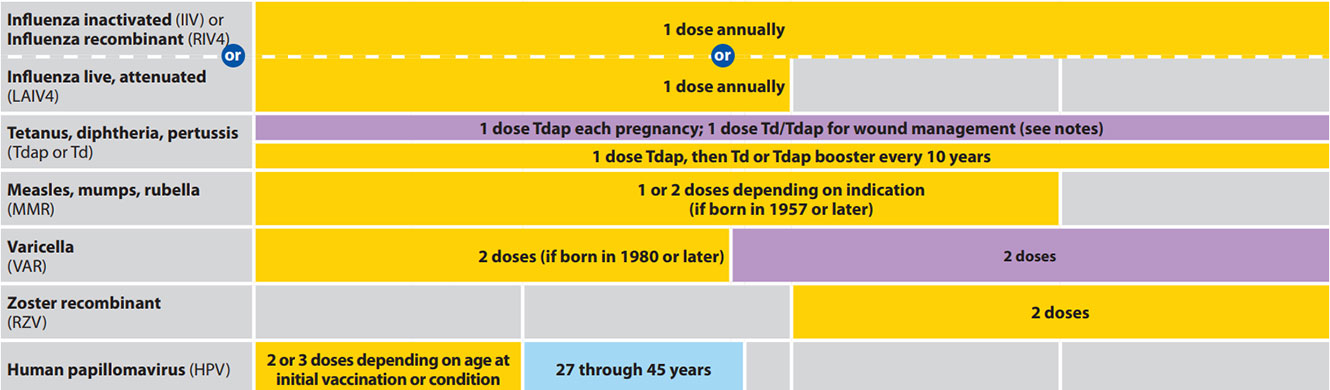 hpv vaccine guidelines 2020)