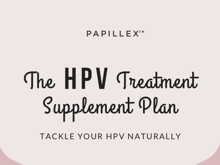 hpv treatment plan