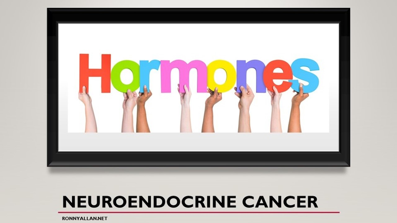 neuroendocrine cancer blurred vision)