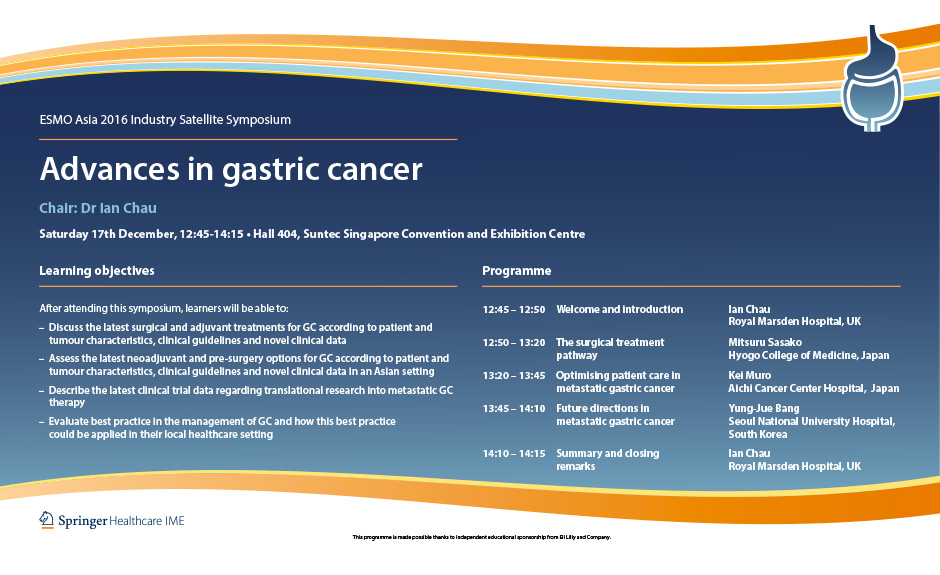 gastric cancer esmo 2020
