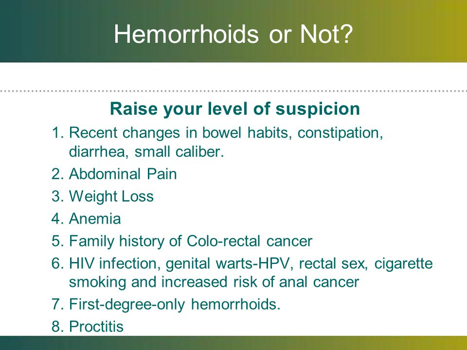 hpv warts vs hemorrhoids
