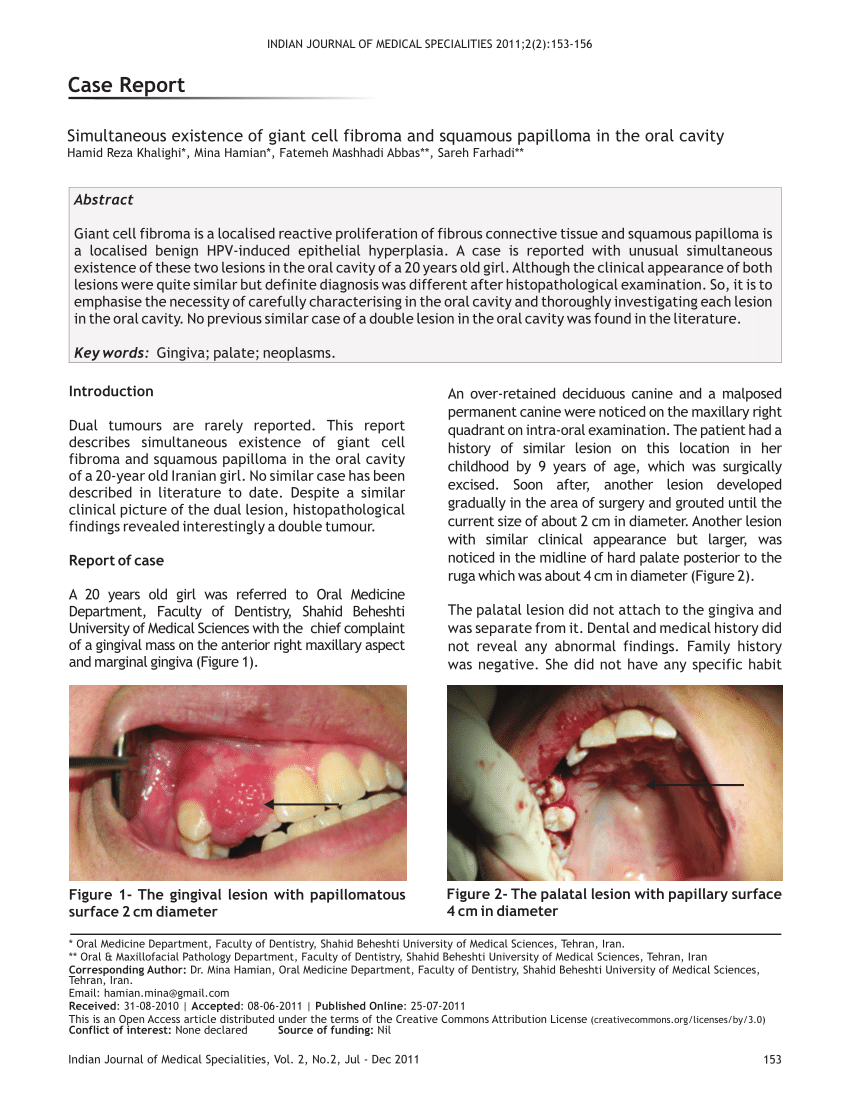 Difference between papilloma and fibroma