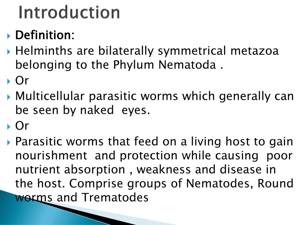 helminth definition)