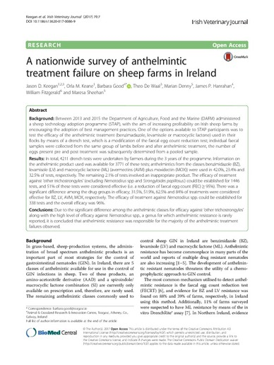 anthelmintic means)