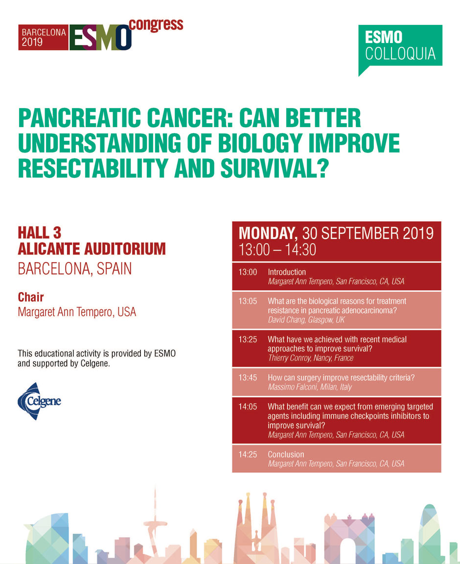 pancreatic cancer esmo