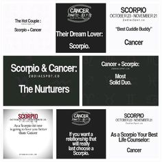 cancer male feminine)