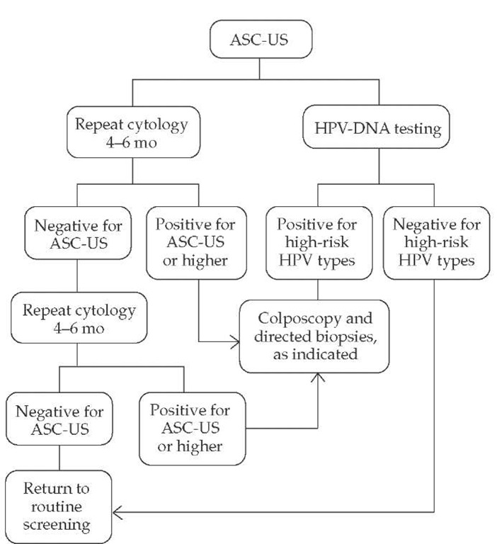 Hpv high risk atypical squamous cells