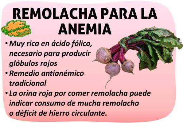 anemia que produce)