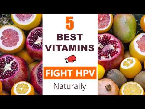 hpv virus treatment vitamins