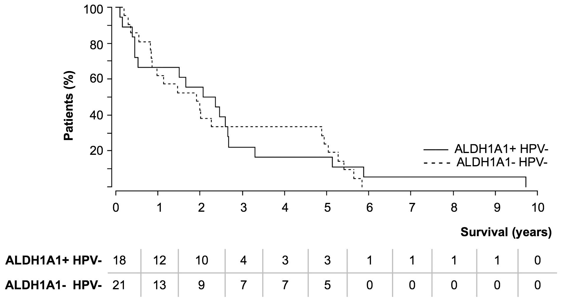 Hpv head and neck cancer survival rates. Intra-arterial chemotherapy of ENT cancers