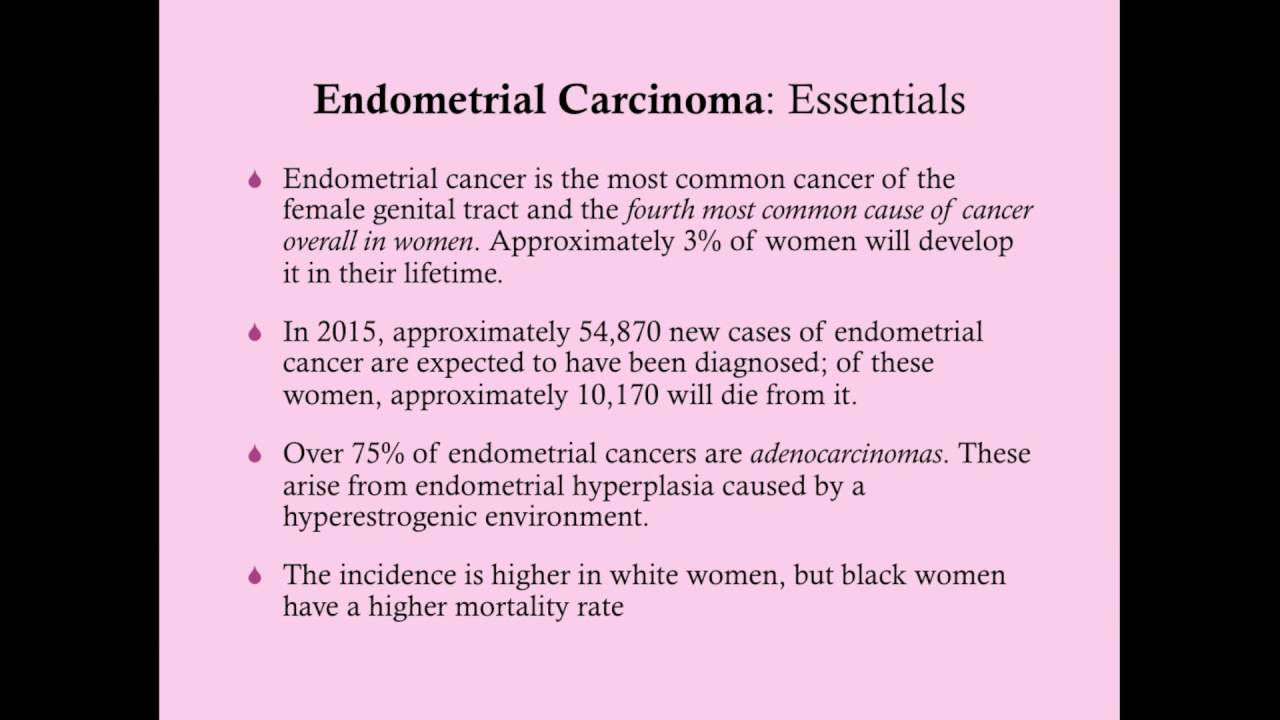 endometrial cancer causes)