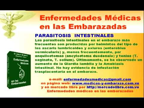 Parasitos oxiuros en embarazadas