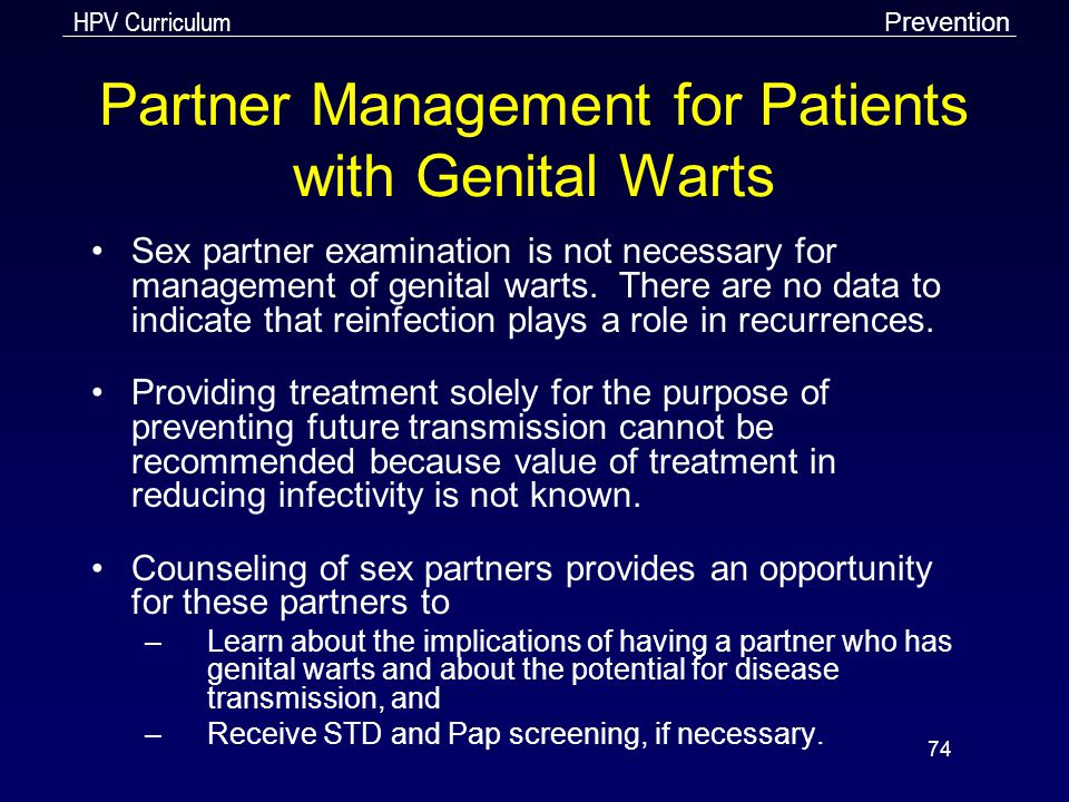 hpv wart recurrence