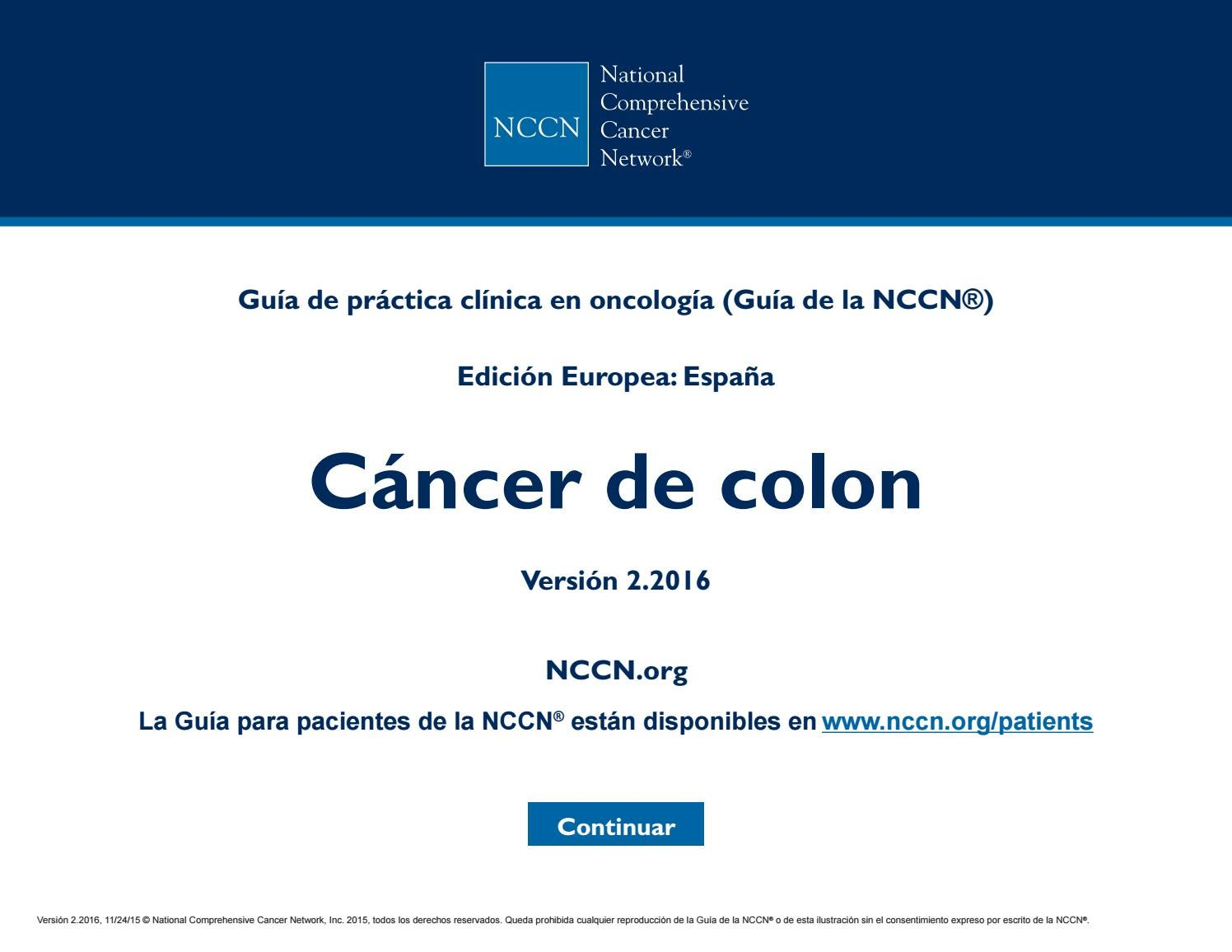 Rectal cancer nccn Încărcat de