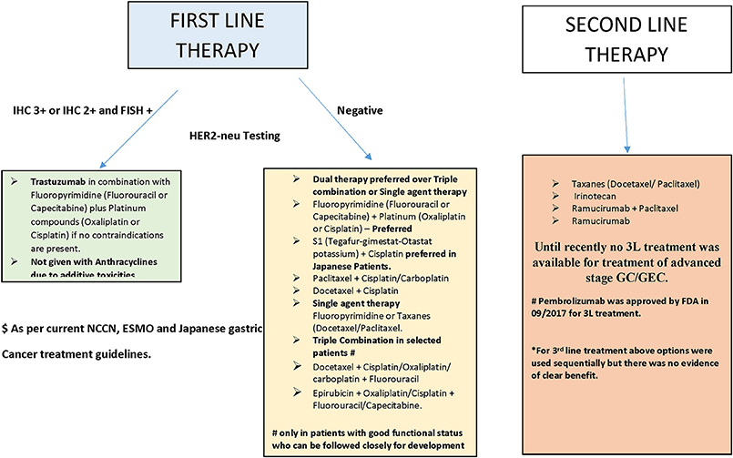 Gastric cancer follow-up guidelines