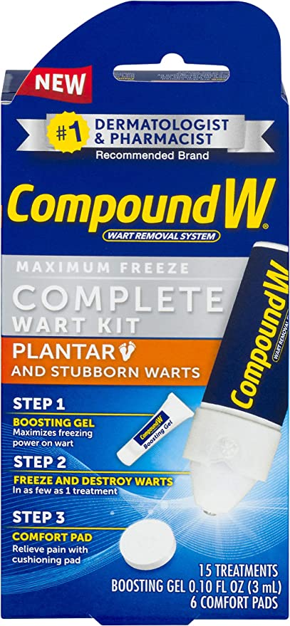 foot wart treatment over the counter