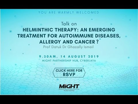 Helminthic therapy for autoimmune disease - Hpv causes cancer in females