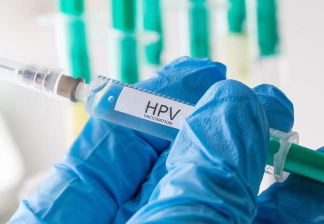 hpv yellow discharge