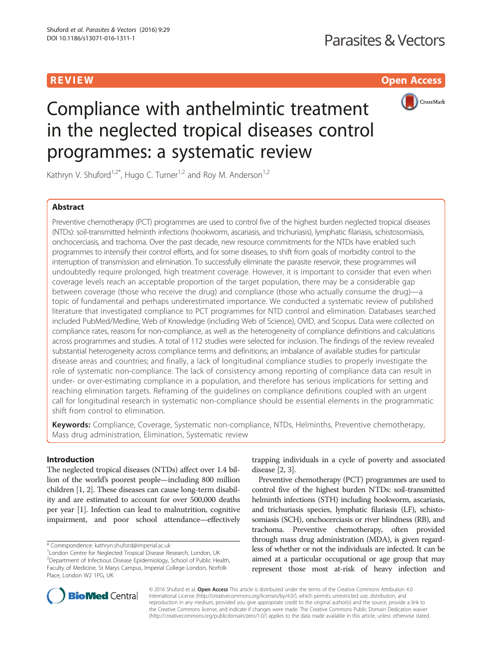 Anthelmintic drugs for pregnancy - REVIEW-URI