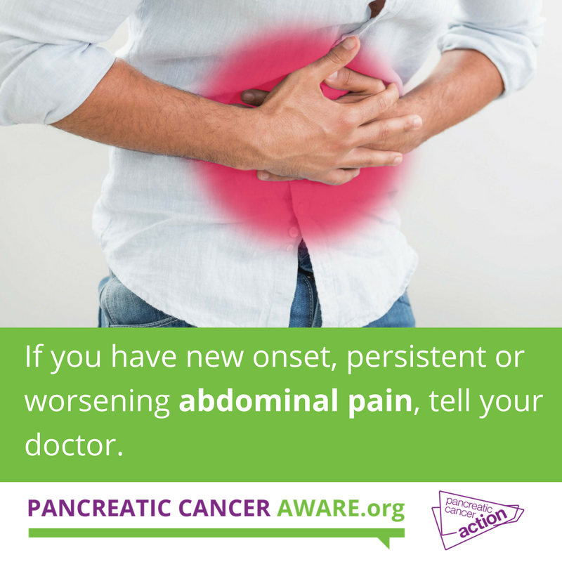 cancer or abdominal pain