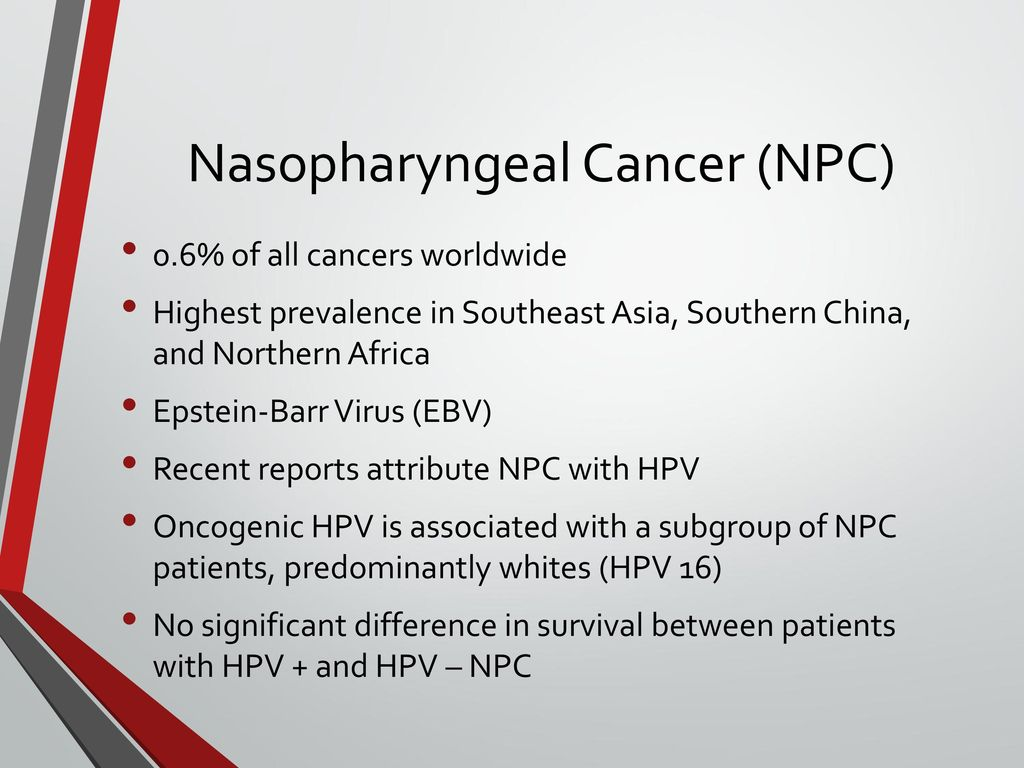 hpv virus and nasopharyngeal cancer)