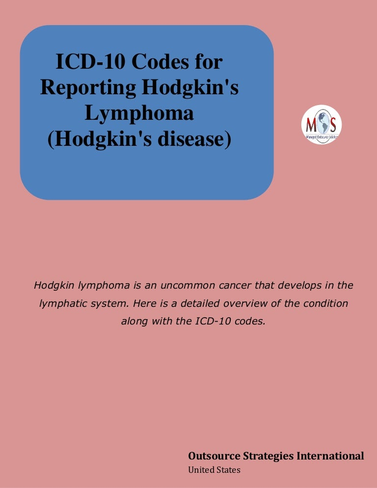 Hodgkins cancer icd 10