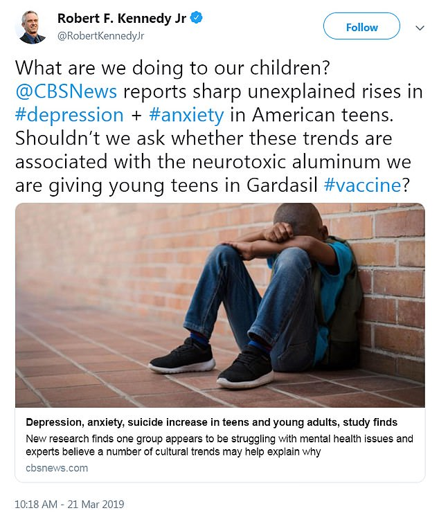 hpv vaccine side effects mental health