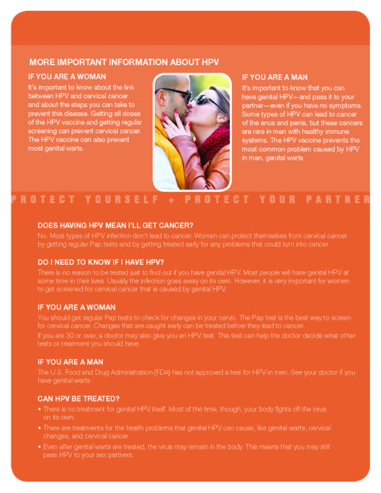 Genital hpv infection fact sheet.